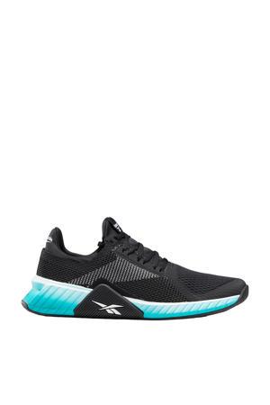 Flashfilm Trainer  sportschoenen zwart/lichtblauw