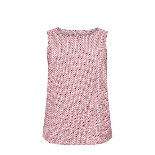 ONLY CARMAKOMA top met all over print lichtroze
