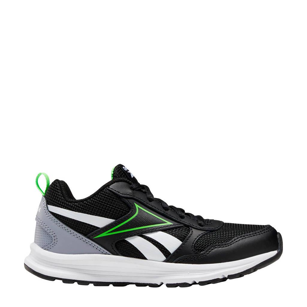 Reebok Training Almotio 5.0  sportschoenen zwart/grijs/fluorgroen, Zwart/grijs/fluorgroen
