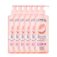 L'Oréal Paris Skin Expert Delicate Flowers Reinigingsmelk - 6 stuks
