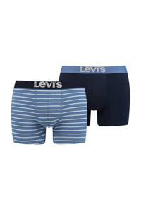 Levi's boxershort (set van 2), Blauw/donkerblauw
