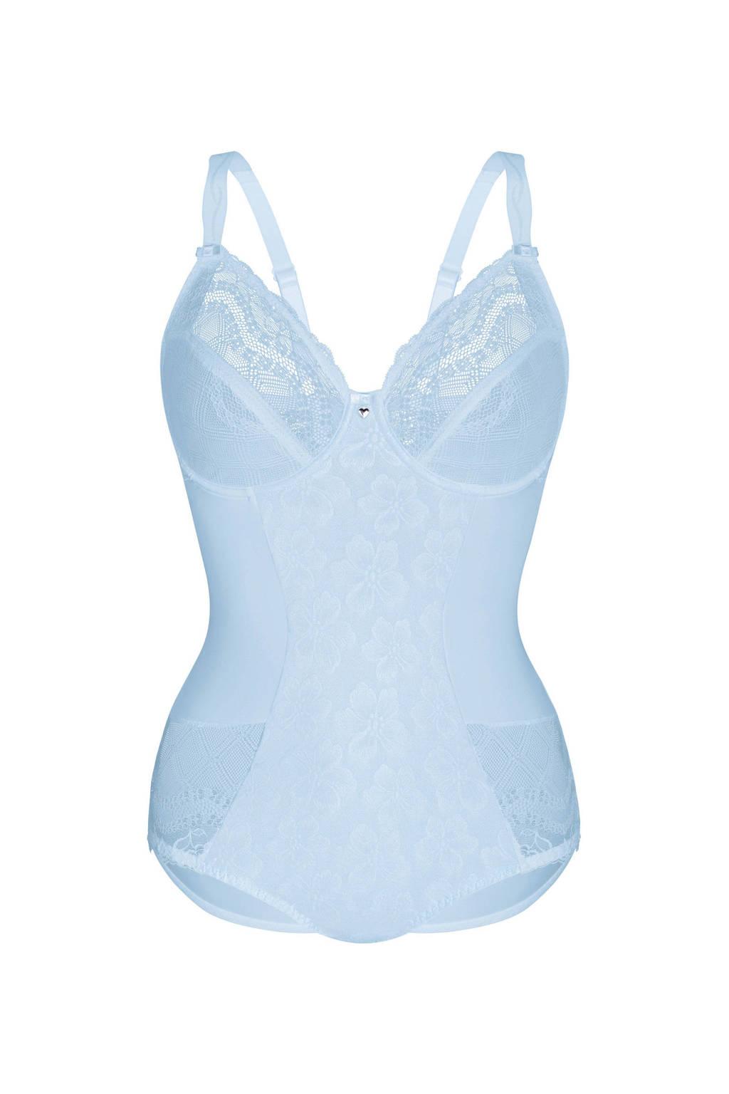 Sassa Mode corrigerende body Exciting Day lichtblauw, Lichtblauw