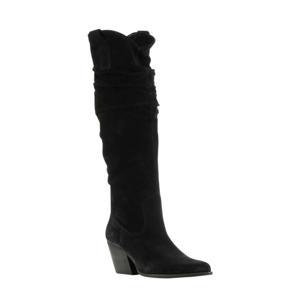 Wrangell  suède laarzen zwart