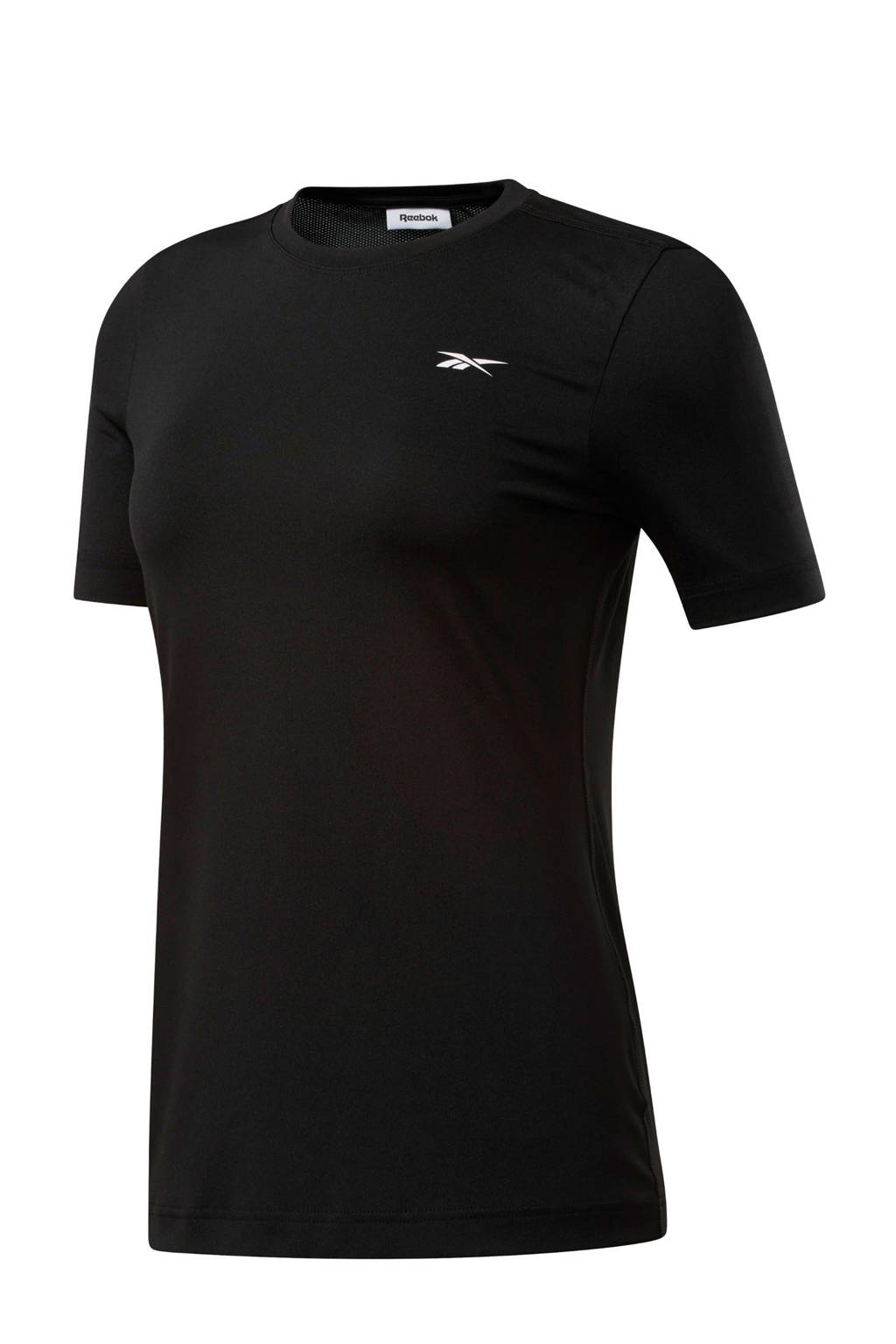 Reebok Training sport T-shirt zwart, Zwart