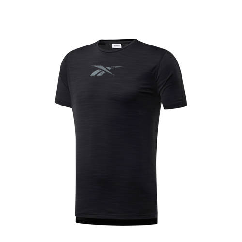 Reebok Training sport T-shirt zwart