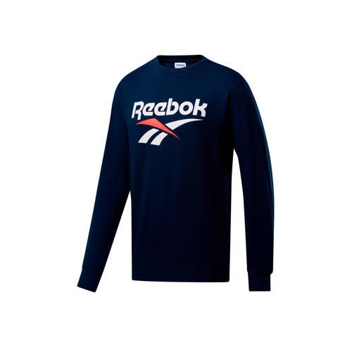 Reebok Classics sweater donkerblauw
