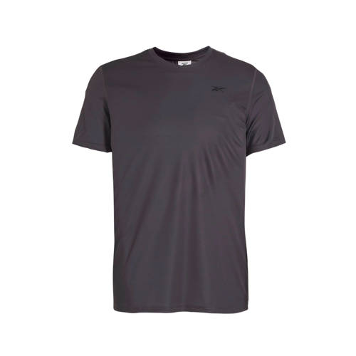 Reebok Training sport T-shirt grijs