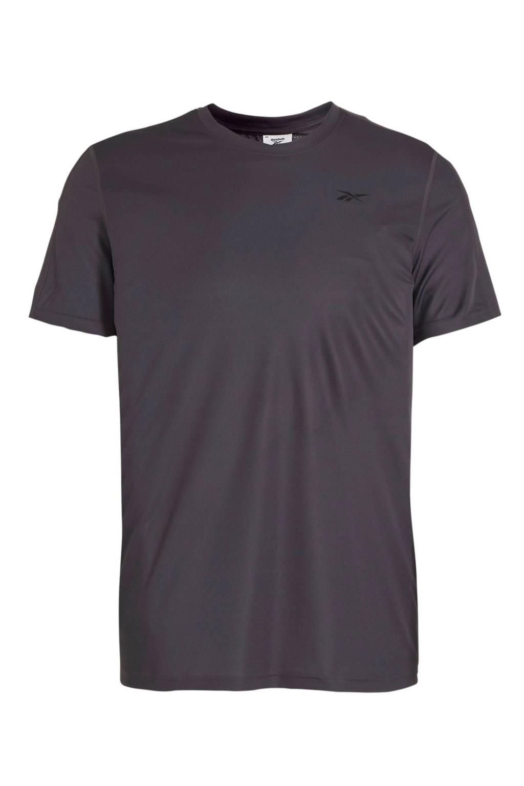 Reebok   sport T-shirt grijs, Grijs