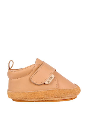 Aki  leren babyschoenen beige/roze