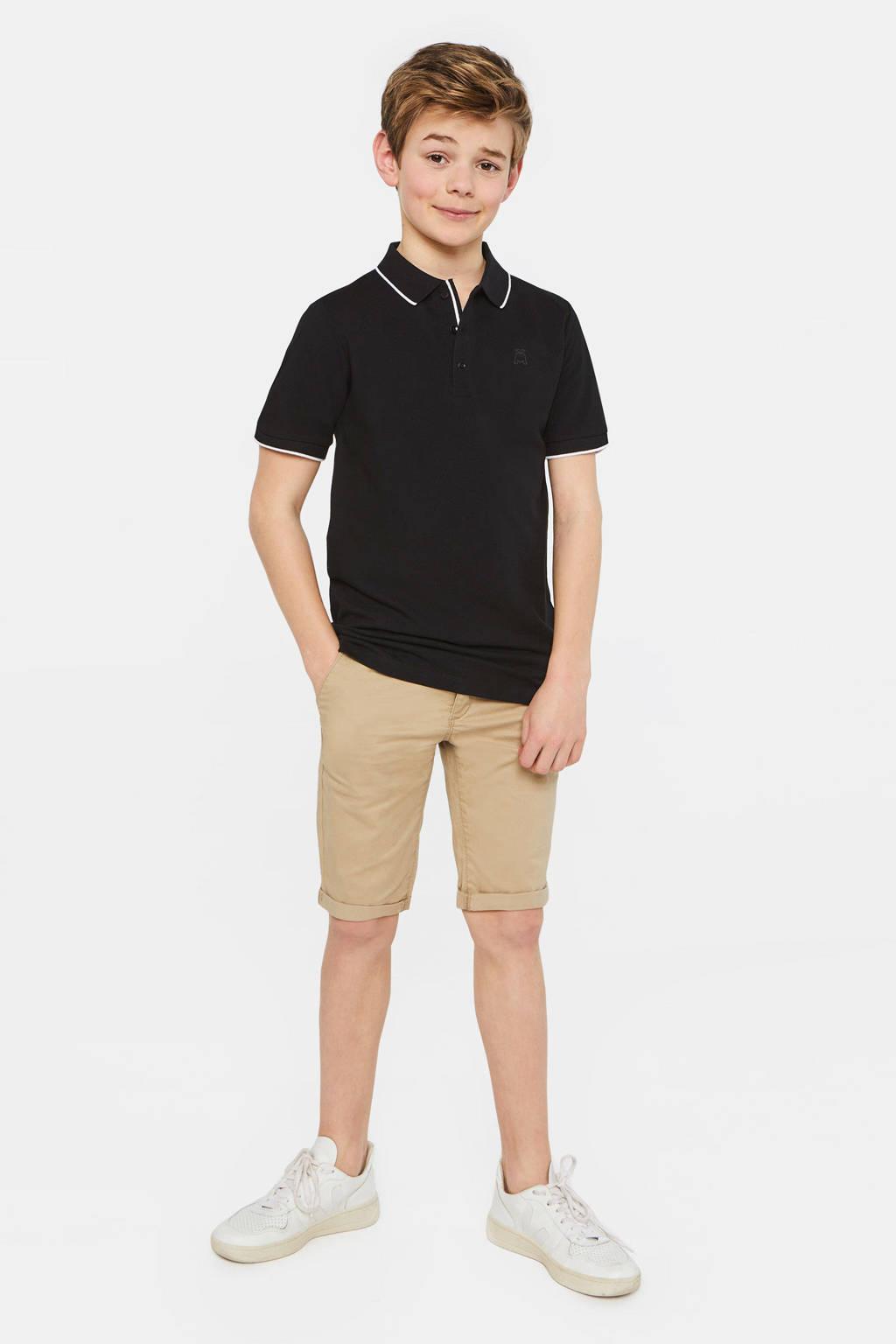 WE Fashion Salty Dog polo Salty Dog zwart, Zwart