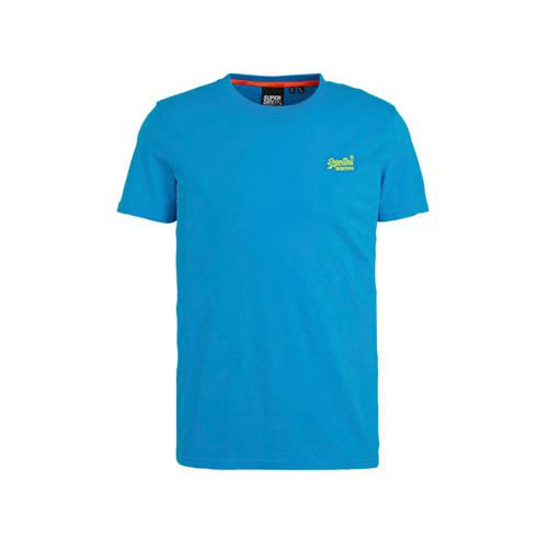 Superdry T-shirt blauw