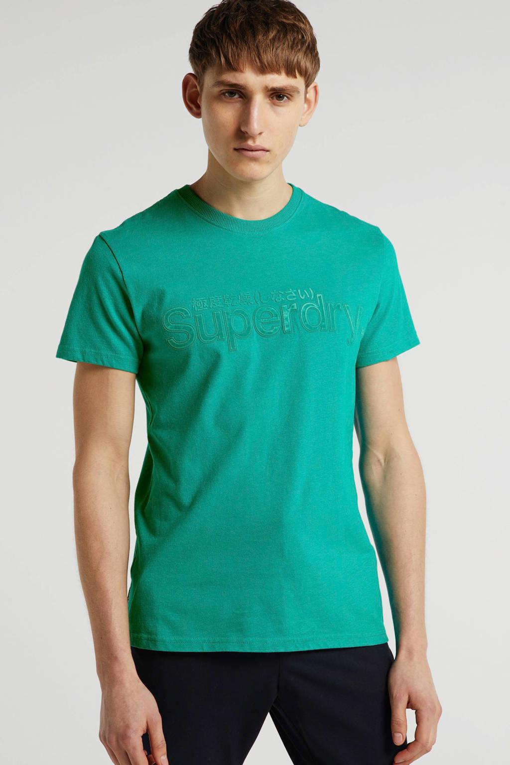 Superdry T-shirt groen, Groen