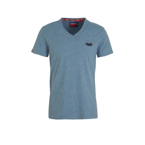 Superdry T-shirt lichtblauw