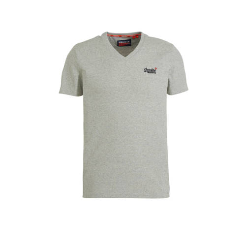 Superdry T-shirt lichtgrijs