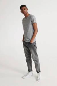 Superdry T-shirt van biologisch katoen grijs, Grijs