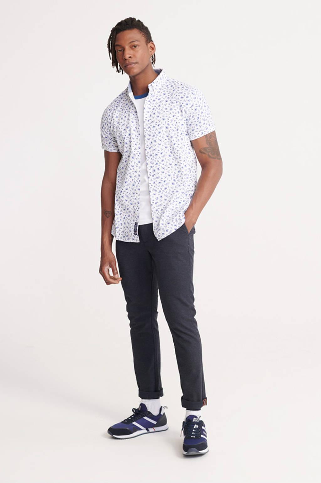 Superdry regular fit overhemd wit, Wit