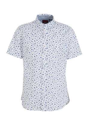 regular fit overhemd wit