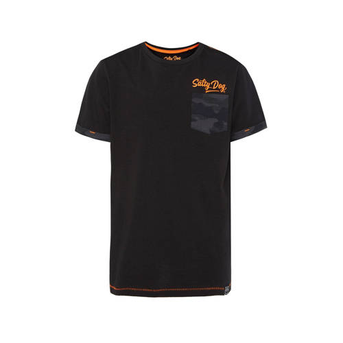 WE Fashion Salty Dog regular fit T-shirt Salty Dog
