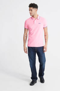Superdry slim fit polo roz, Roze