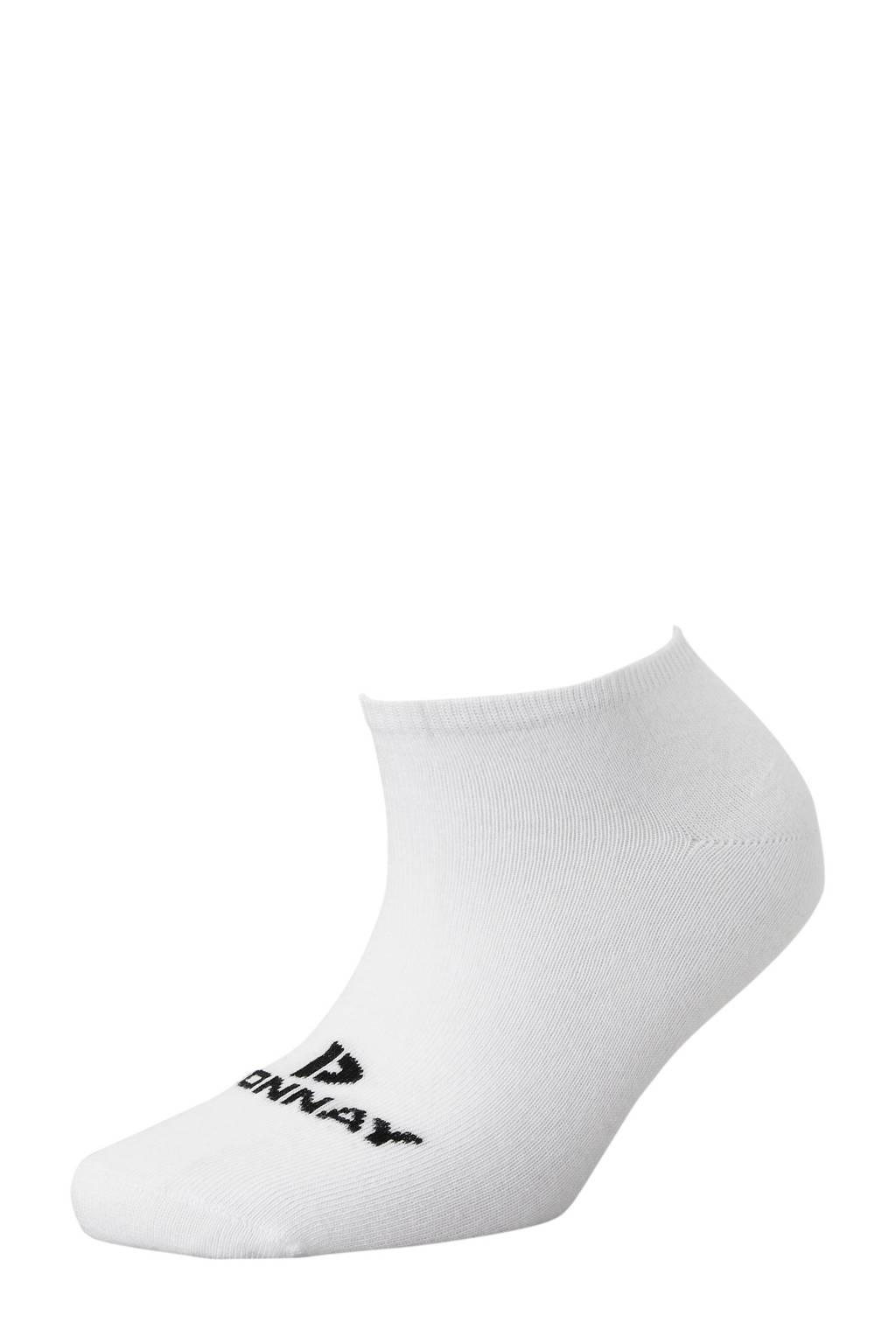 Donnay   sportsokken kort (set van 6 paar) wit, Wit