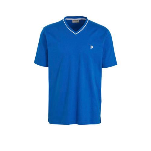 Donnay sport T-shirt Jason blauw