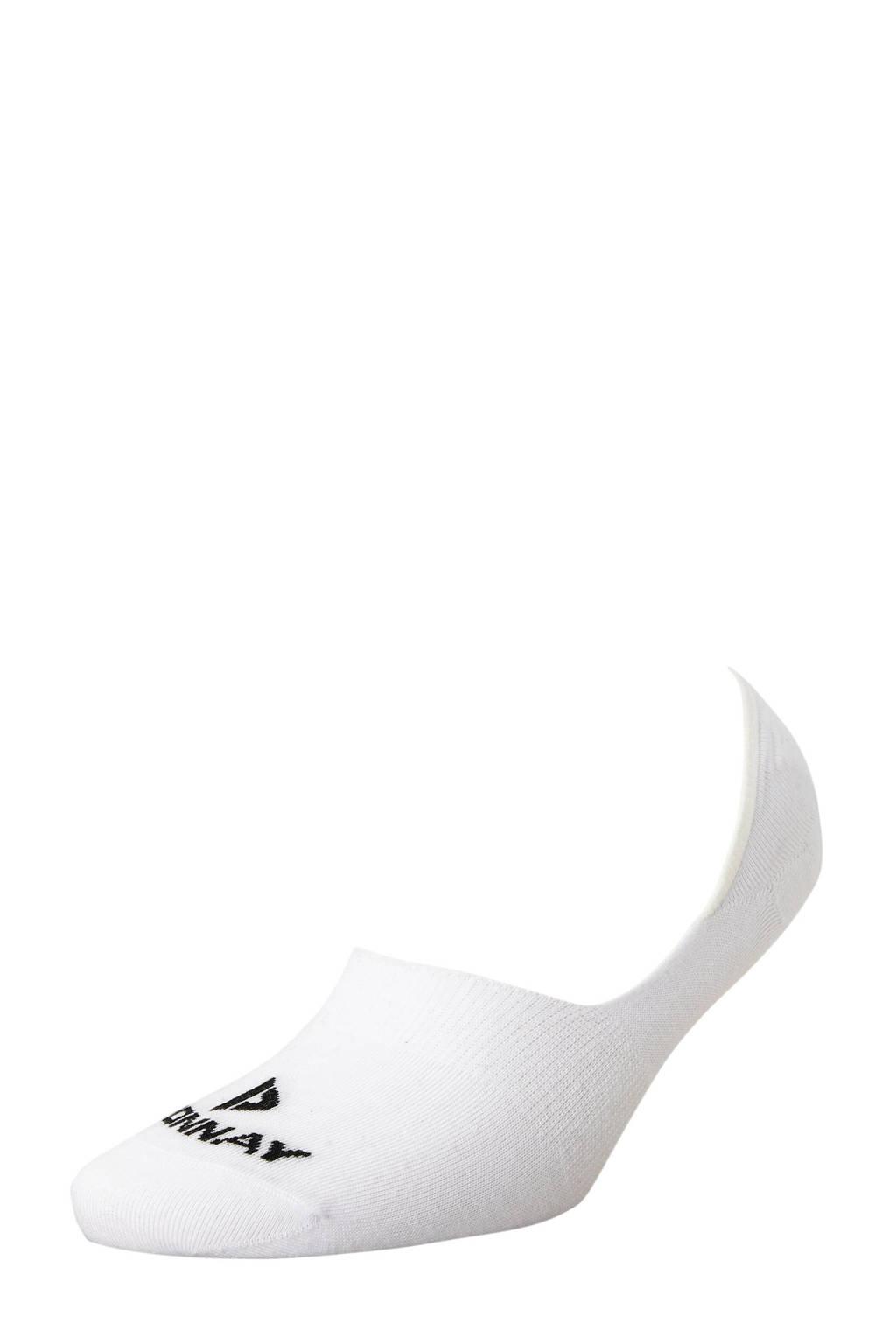 Donnay   sportsokken no show (set van 6 paar) wit, Wit