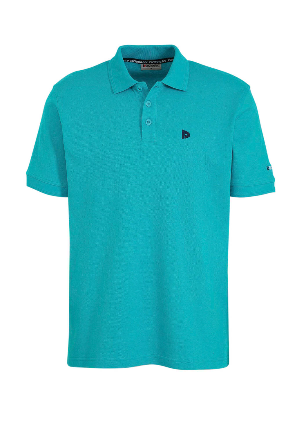 Donnay   sportpolo Noah turquoise, Turquoise