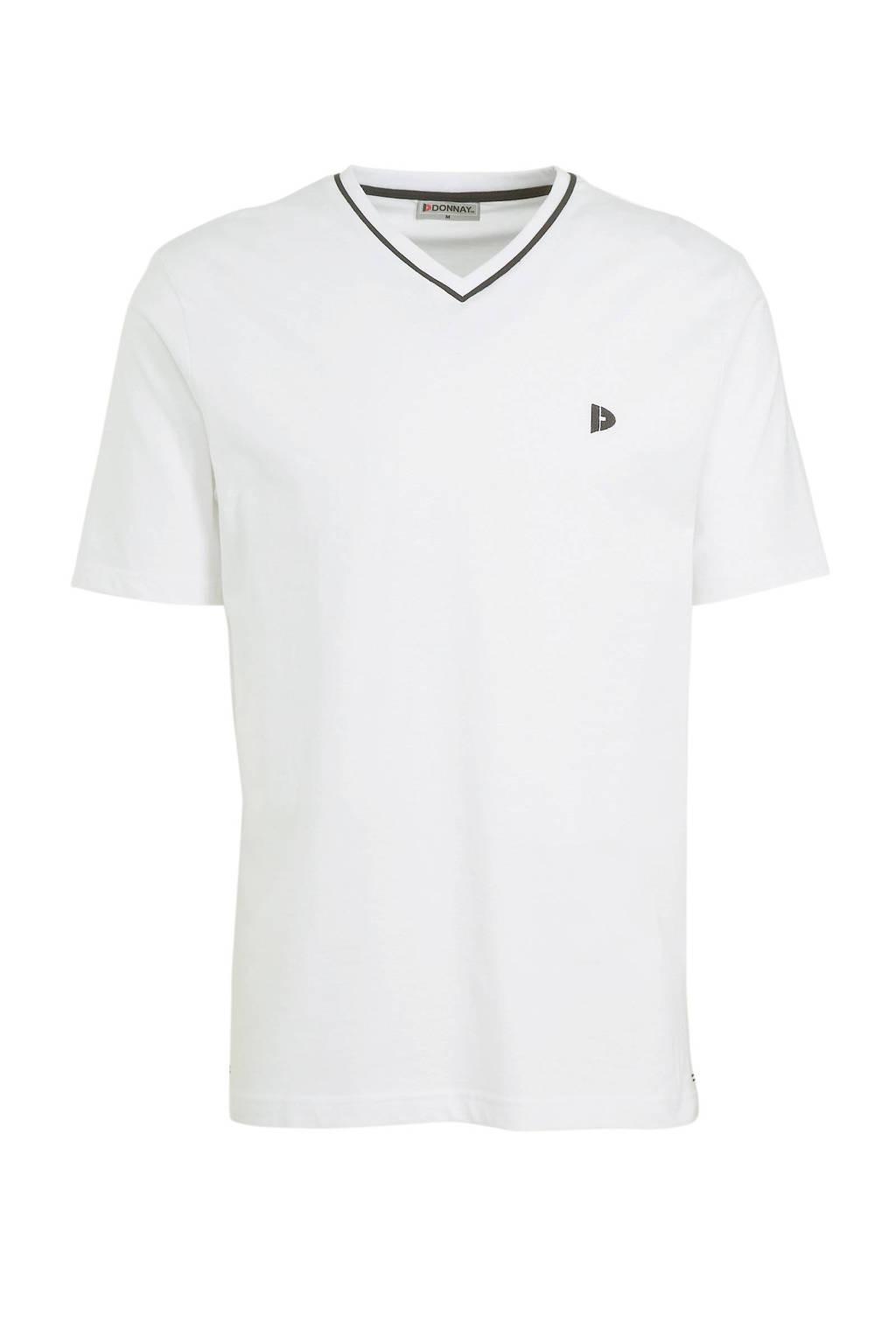 Donnay   sport T-shirt Jason wit, Wit