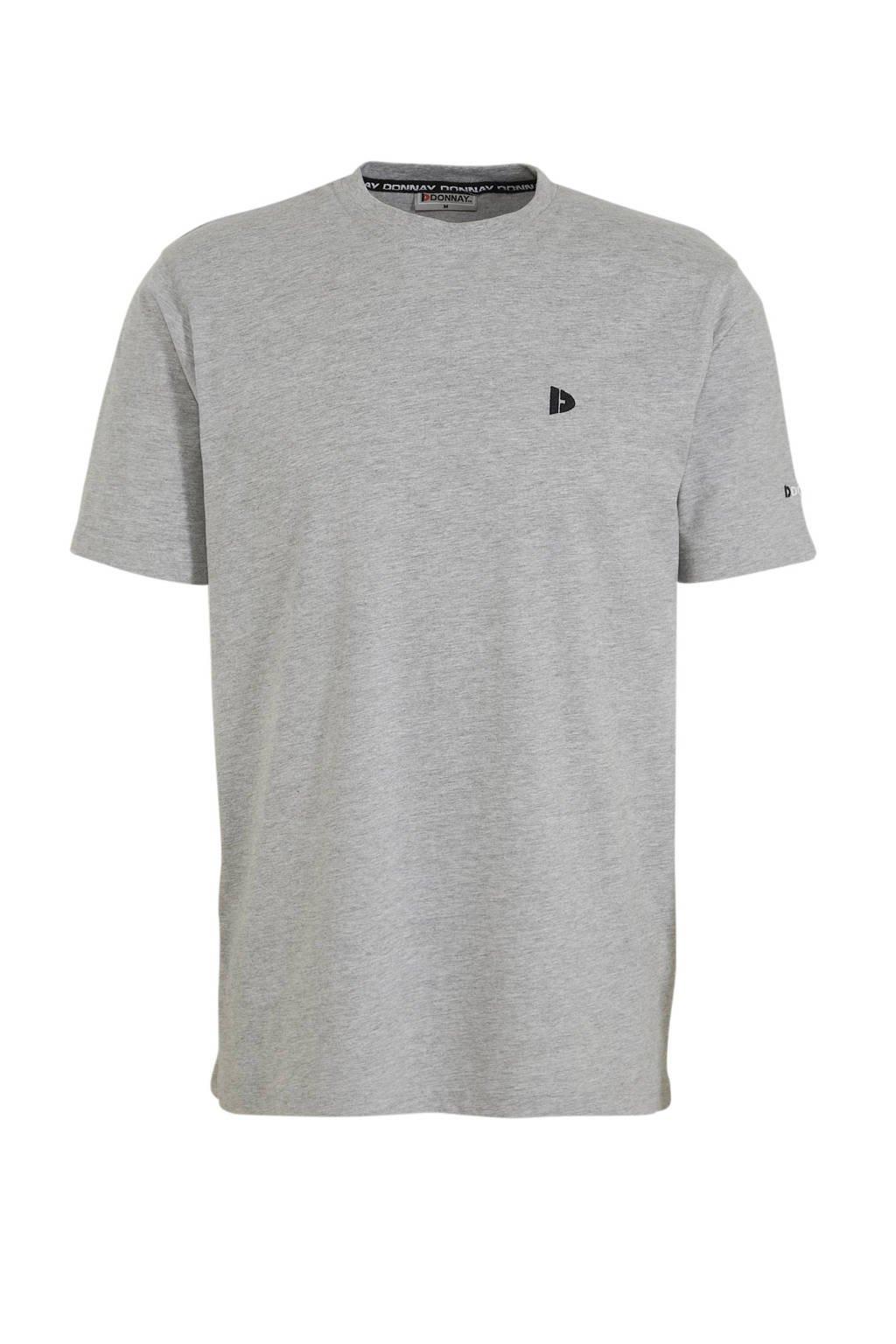 Donnay   sport T-shirt grijs, Grijs