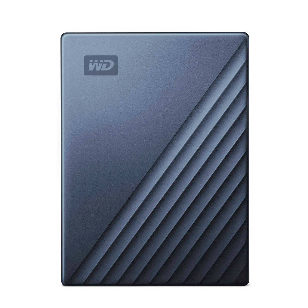 WD My Passport for Mac 2.5 inch 2TB Type C harddisk, -