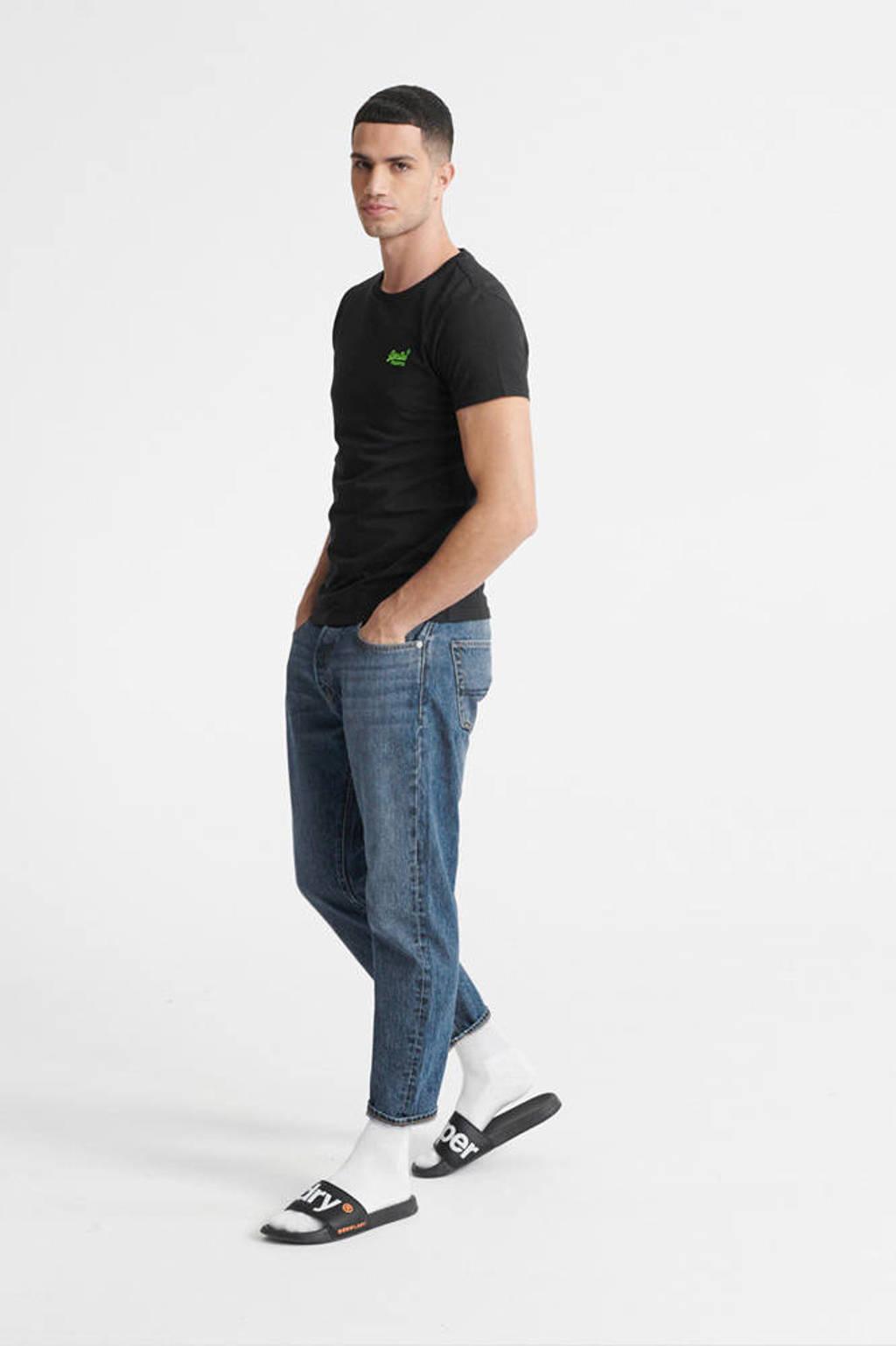 Superdry T-shirt zwart, Zwart