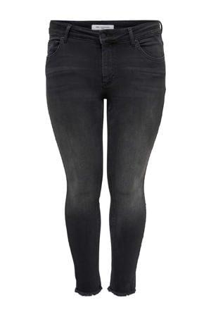 skinny jeans regular waist CARWILLY antraciet