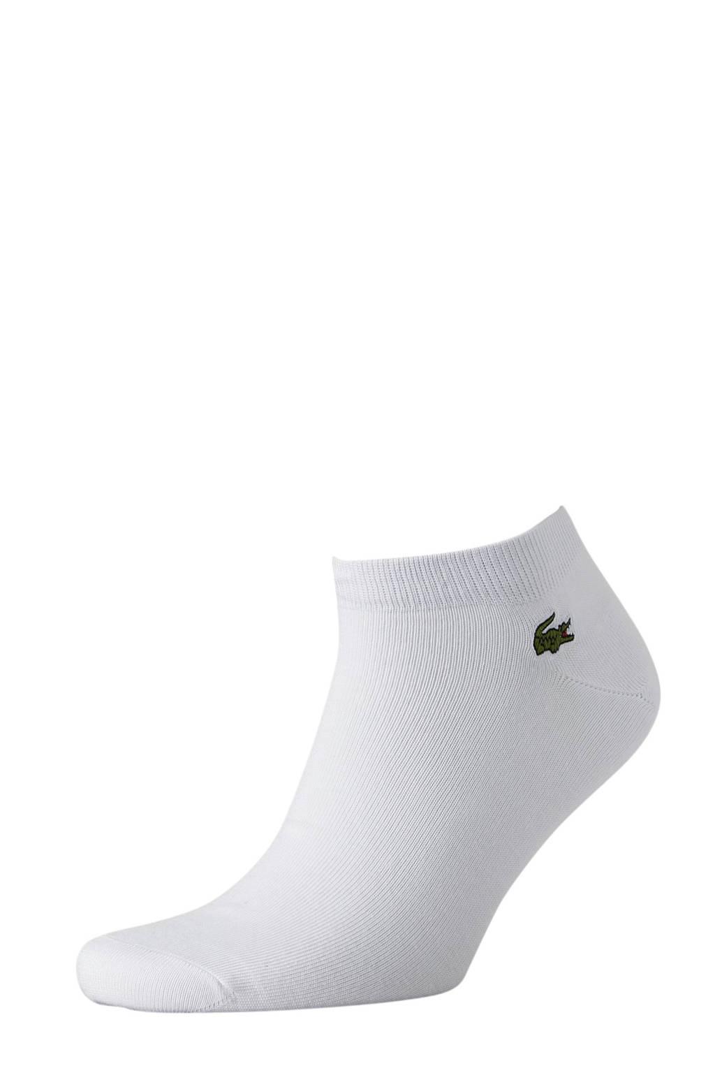 Lacoste   sneakersokken (3 paar) wit, Wit