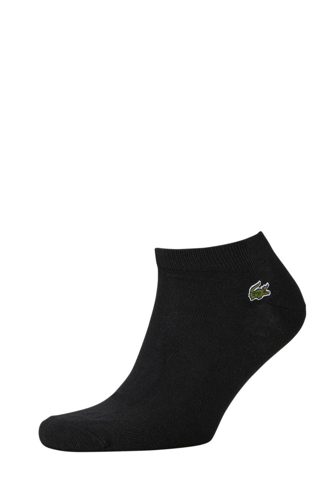 Lacoste   sneakersokken (3 paar) zwart, Zwart