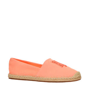 Nautical Basic  espadrilles oranje/zalm