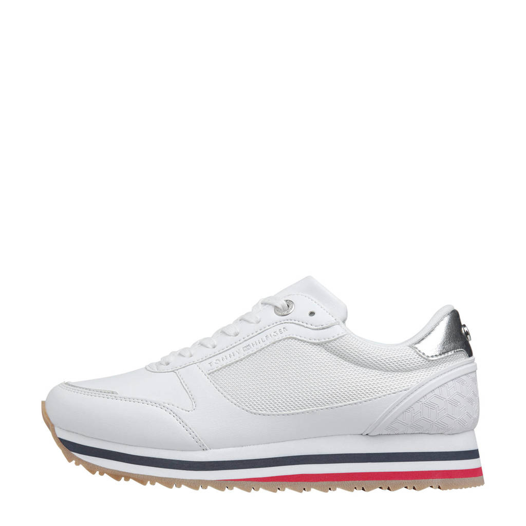 Tommy Hilfiger   sneakers wit/zilver, Wit/zilver