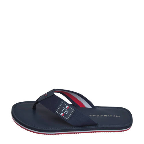 Tommy Hilfiger Elevated Leather Beach Sandal teens