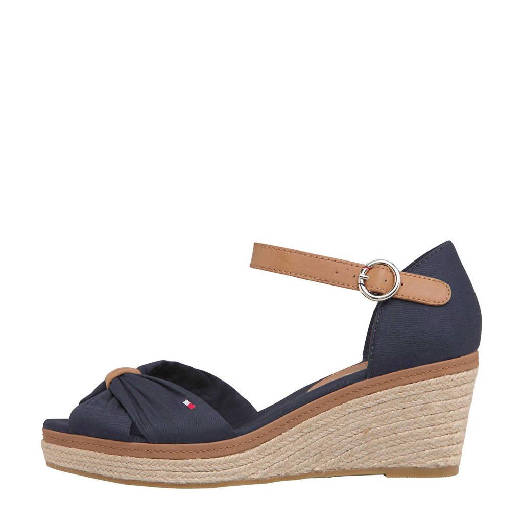 Tommy Hilfiger Iconic Elba Sandal  sandalettes blauw, Blauw