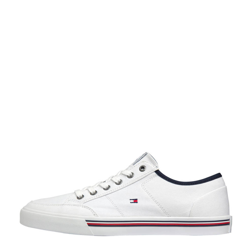 Tommy Hilfiger Core Signature  sneakers wit, Wit