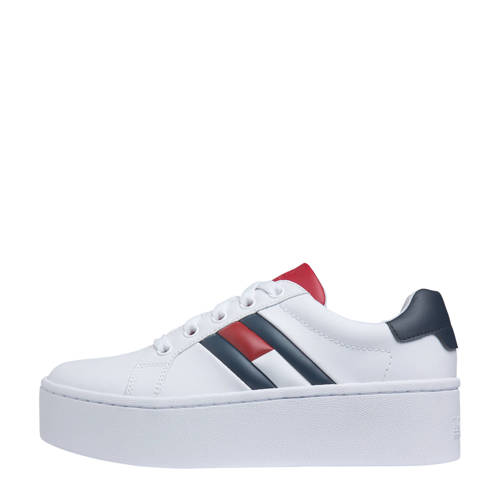 Tommy Jeans Icon Sneaker plateau sneakers wit