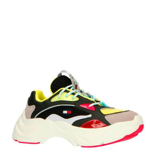 Tommy Jeans chunky sneakers zwart/multi