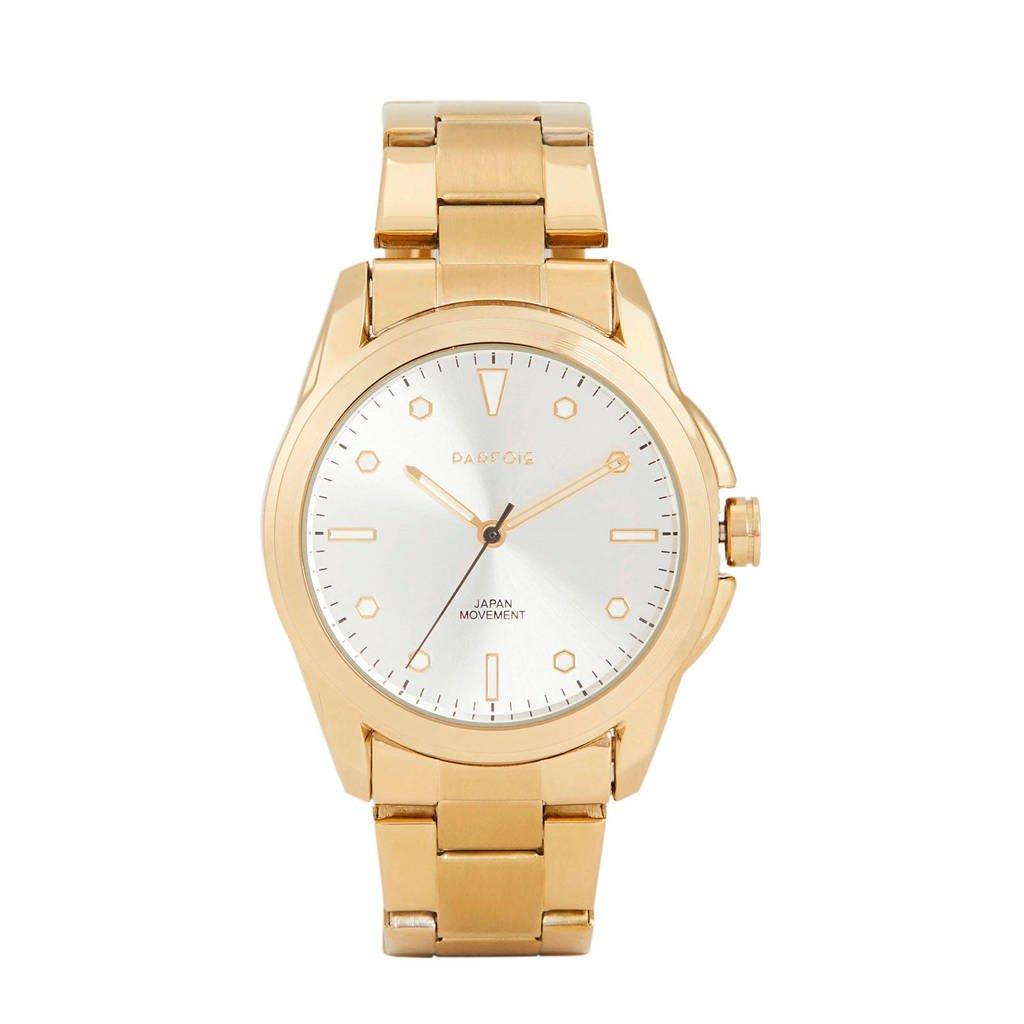 Parfois horloge goud, Goud