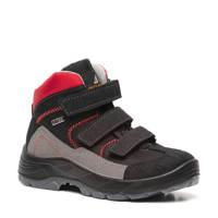 Scapino Mountain Peak   wandelschoenen zwart/rood jongens, Zwart/rood/grijs
