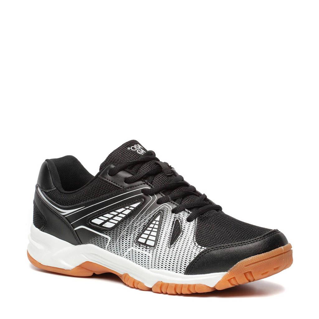 Scapino Osaga   zaal sportschoenen zwart/wit, Zwart/wit