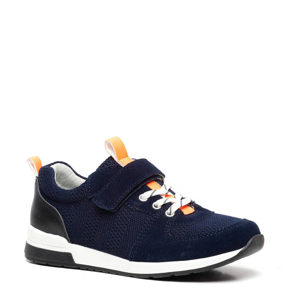 Scapino TwoDay   suède sneakers donkerblauw, Donkerblauw