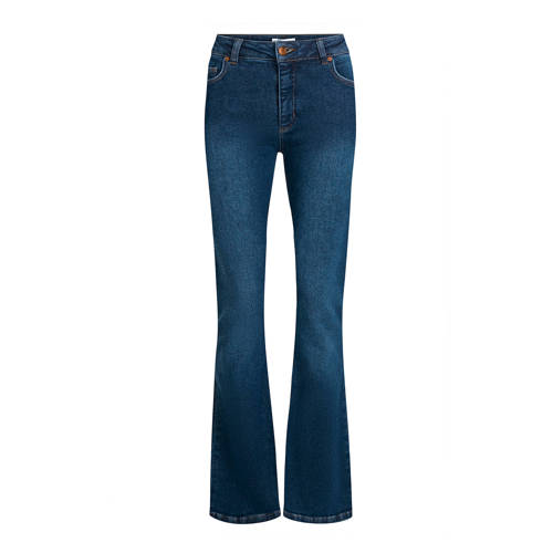 Fabienne Chapot flared jeans Eva dark blue denim