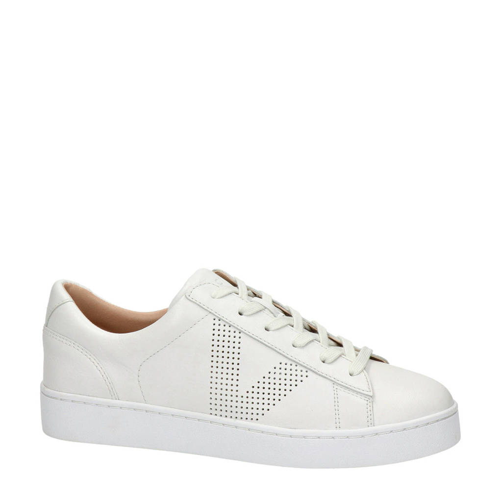 Vionic Honey LTHR  leren sneakers wit, Wit