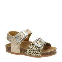 Kipling Nula 1  leren sandalen goud, Goud/beige
