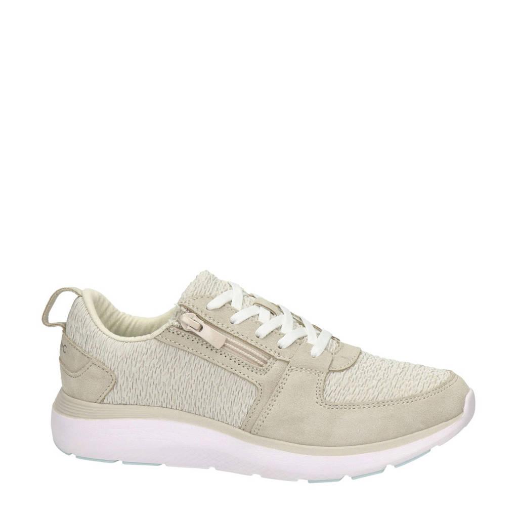 Vionic Remi  suède sneakers beige, Beige/ecru