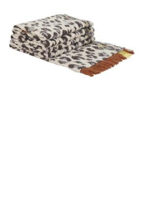 panterprint sjaal ecru